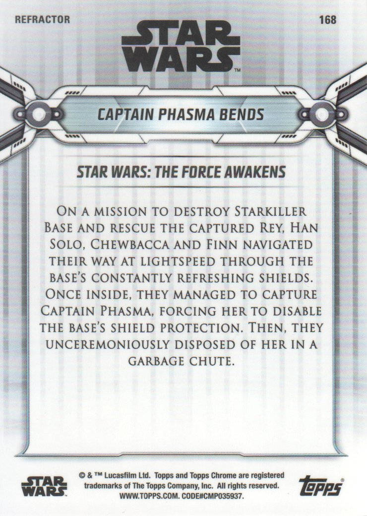 2019-Star-Wars-Chrome-Legacy-Parallels-Trading-Cards-Pick-From-List miniature 155