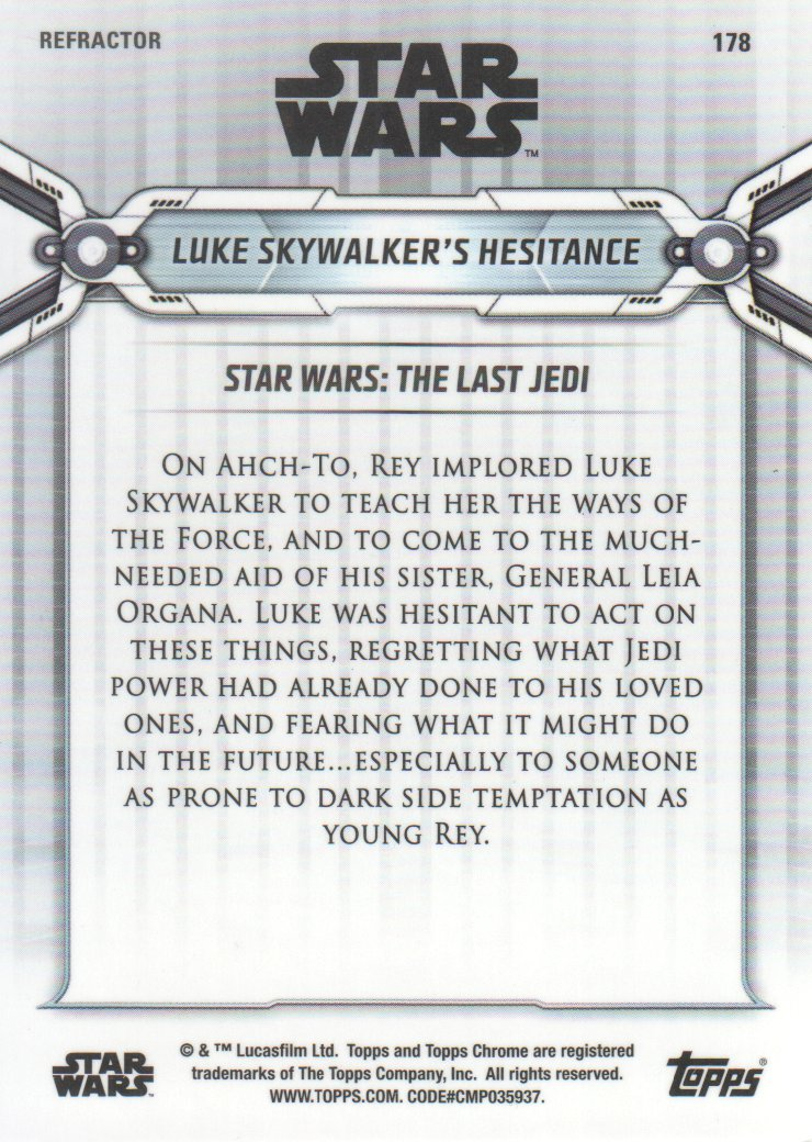 2019-Star-Wars-Chrome-Legacy-Parallels-Trading-Cards-Pick-From-List miniature 161