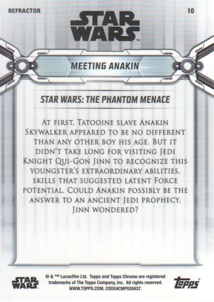 2019-Star-Wars-Chrome-Legacy-Parallels-Trading-Cards-Pick-From-List miniature 45