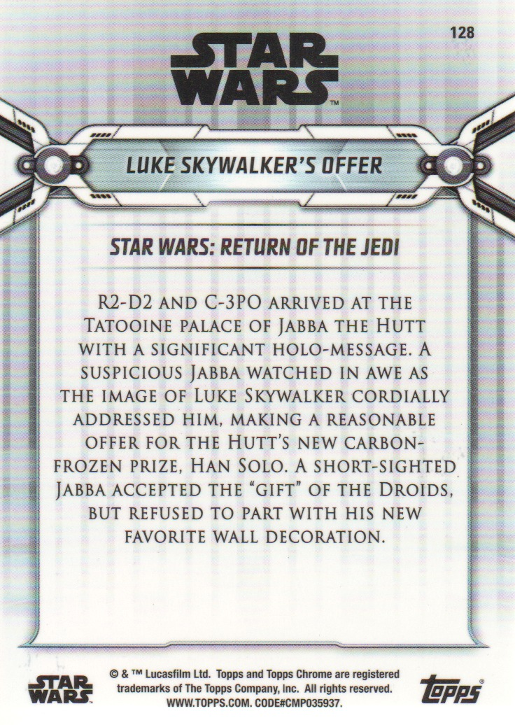 2019-Star-Wars-Chrome-Legacy-Parallels-Trading-Cards-Pick-From-List miniature 37