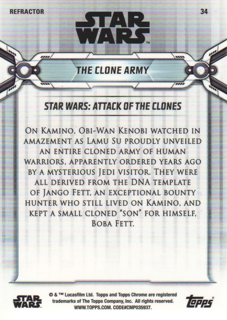 2019-Star-Wars-Chrome-Legacy-Parallels-Trading-Cards-Pick-From-List miniature 71