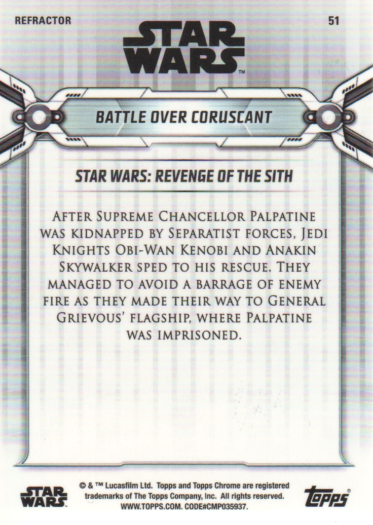 2019-Star-Wars-Chrome-Legacy-Parallels-Trading-Cards-Pick-From-List miniature 87