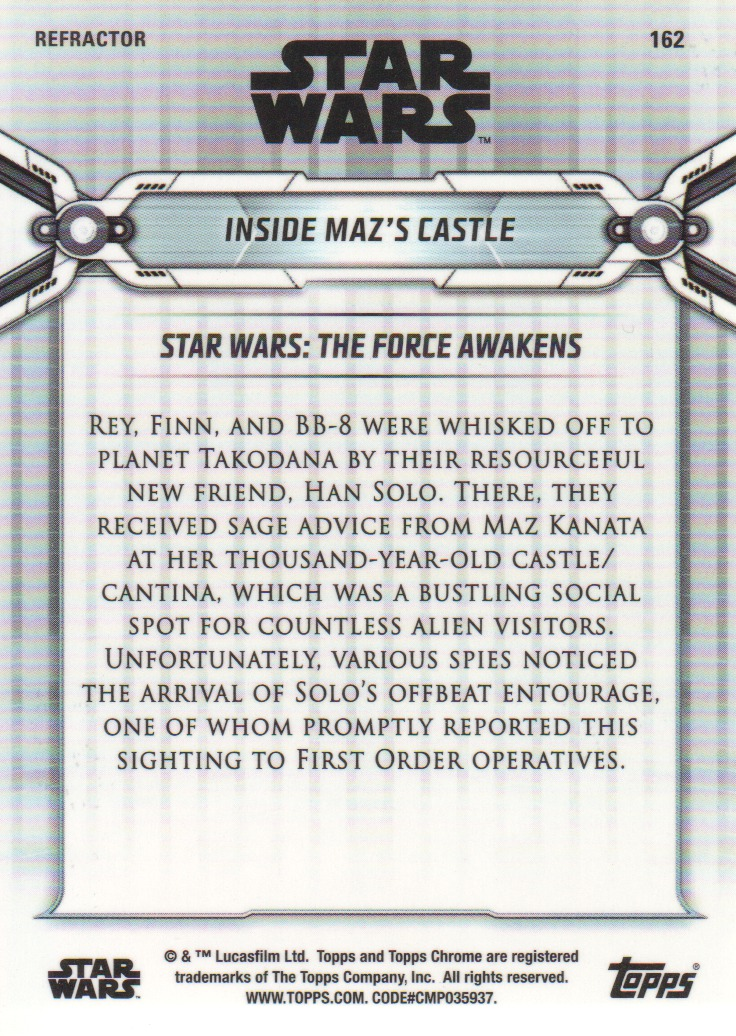 2019-Star-Wars-Chrome-Legacy-Parallels-Trading-Cards-Pick-From-List miniature 151