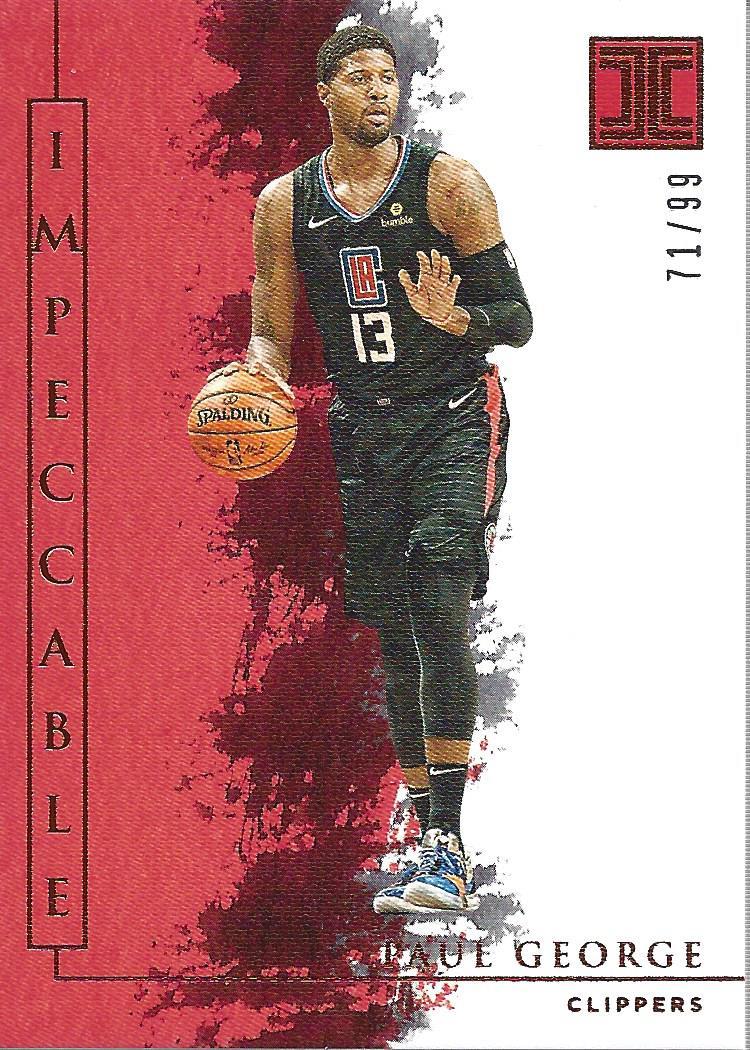 thumbnail 8 - 2019-20 Panini Impeccable Basketball Card Pick
