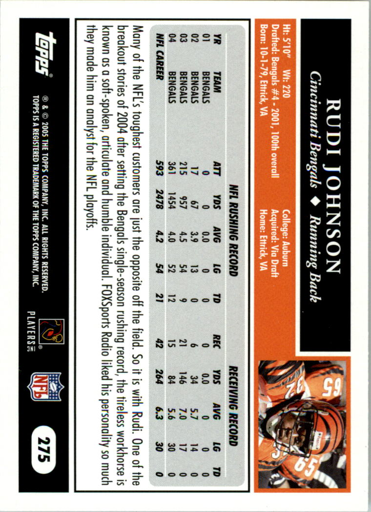 2005-Topps-First-Edition-Football-Card-Pick-1-301 thumbnail 464