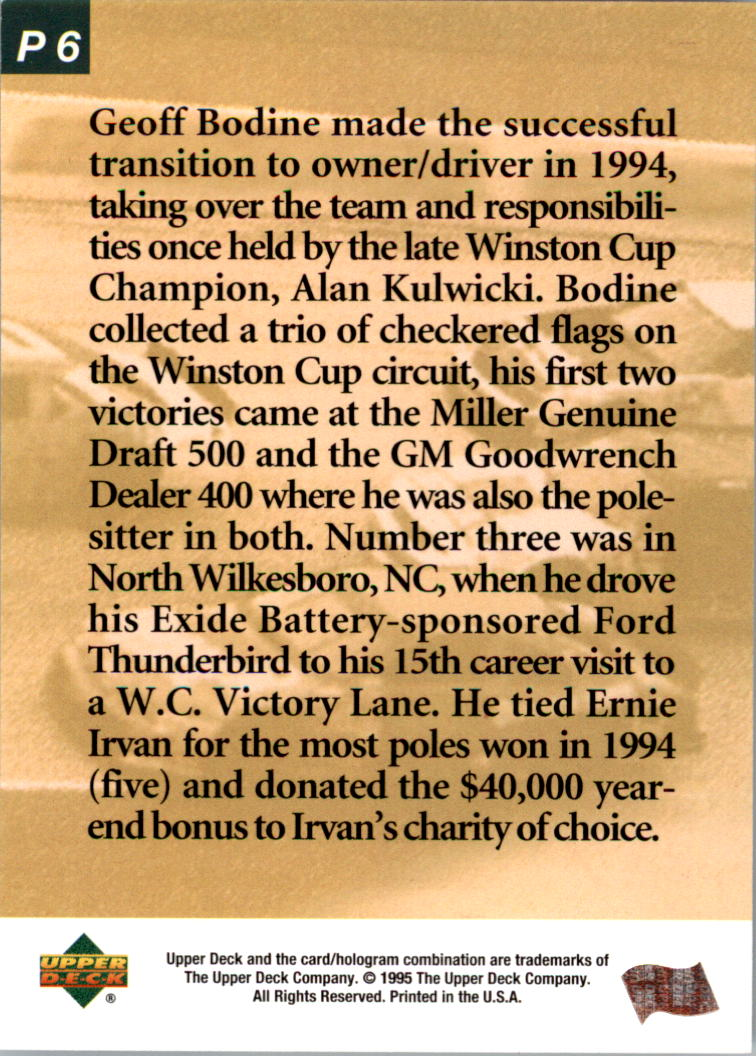 1995-Upper-Deck-Predictor-Race-Winners-Prizes-Racing-Card-Pick thumbnail 13