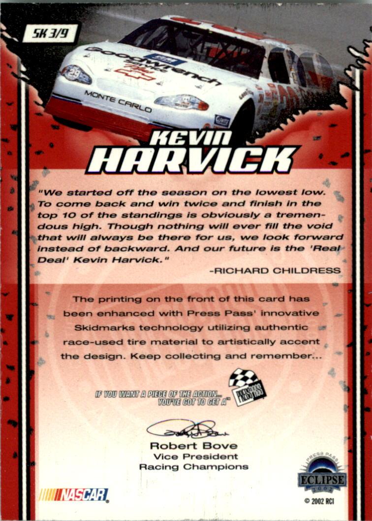 2002-Press-Pass-Eclipse-Racing-Insert-Card-Pick thumbnail 3