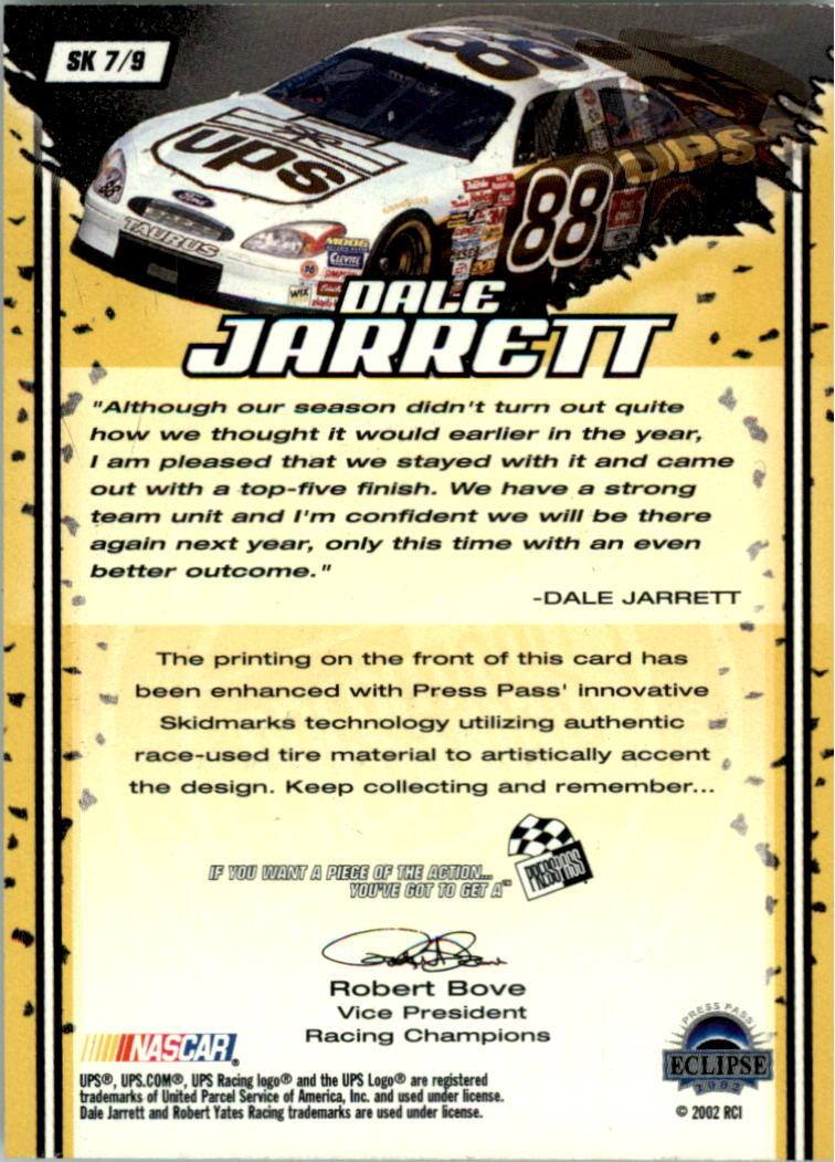 2002-Press-Pass-Eclipse-Racing-Insert-Card-Pick thumbnail 7