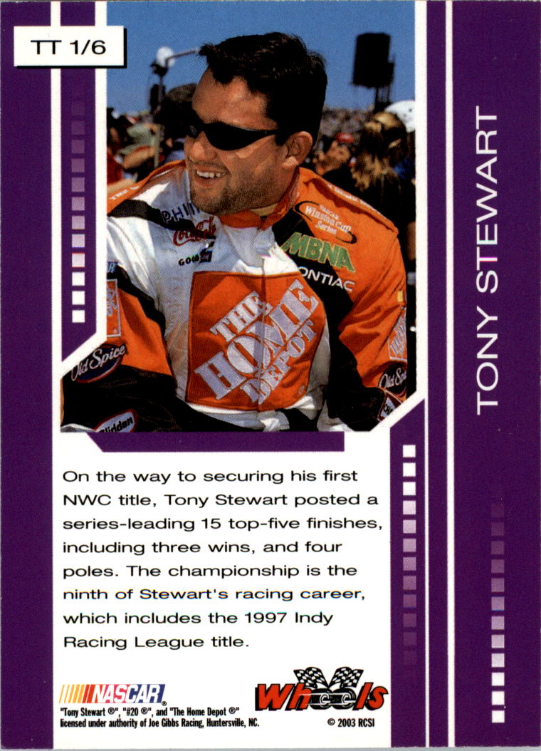 2003-Wheels-High-Gear-Racing-Insert-Card-Pick thumbnail 107