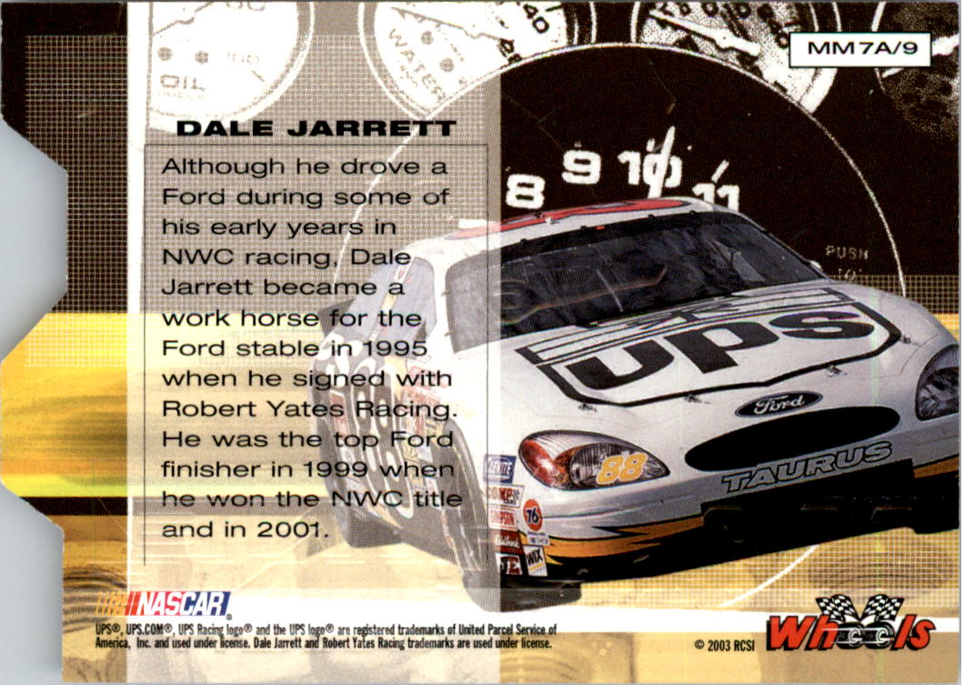 2003-Wheels-High-Gear-Racing-Insert-Card-Pick thumbnail 96