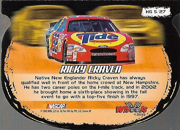 2003-Wheels-High-Gear-Racing-Insert-Card-Pick thumbnail 30