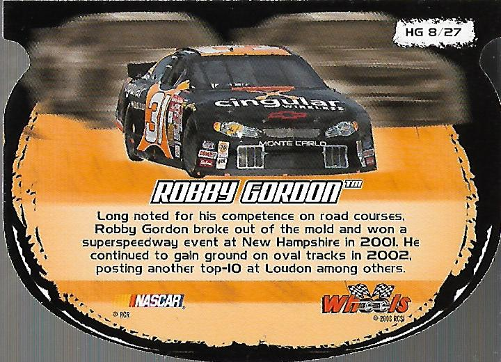 2003-Wheels-High-Gear-Racing-Insert-Card-Pick thumbnail 34