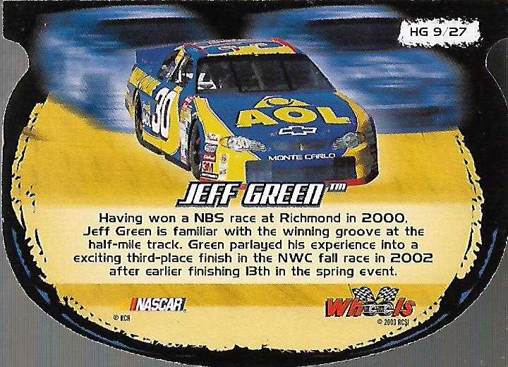 2003-Wheels-High-Gear-Racing-Insert-Card-Pick thumbnail 36