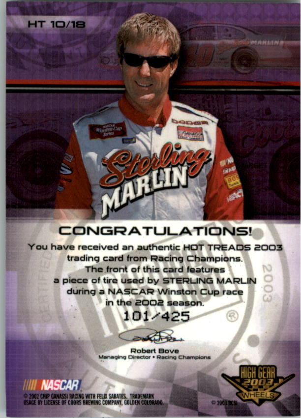 2003-Wheels-High-Gear-Racing-Insert-Card-Pick thumbnail 79