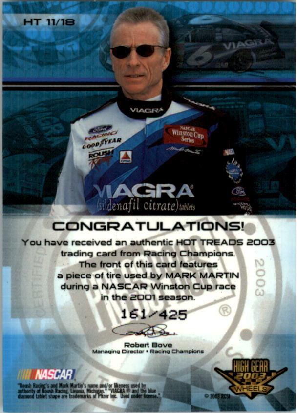 2003-Wheels-High-Gear-Racing-Insert-Card-Pick thumbnail 81
