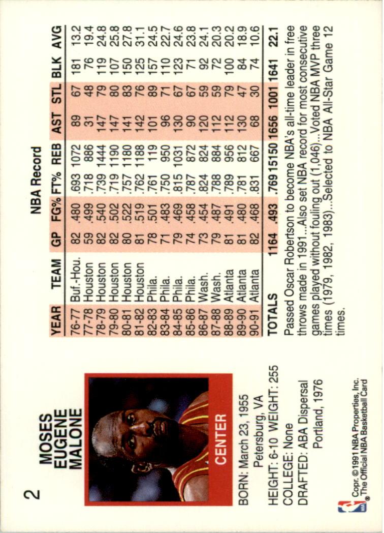 thumbnail 5 - 1991-92 Hoops Basketball Card Pick 1-250
