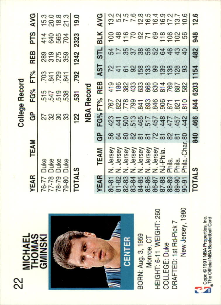 thumbnail 43 - 1991-92 Hoops Basketball Card Pick 1-250