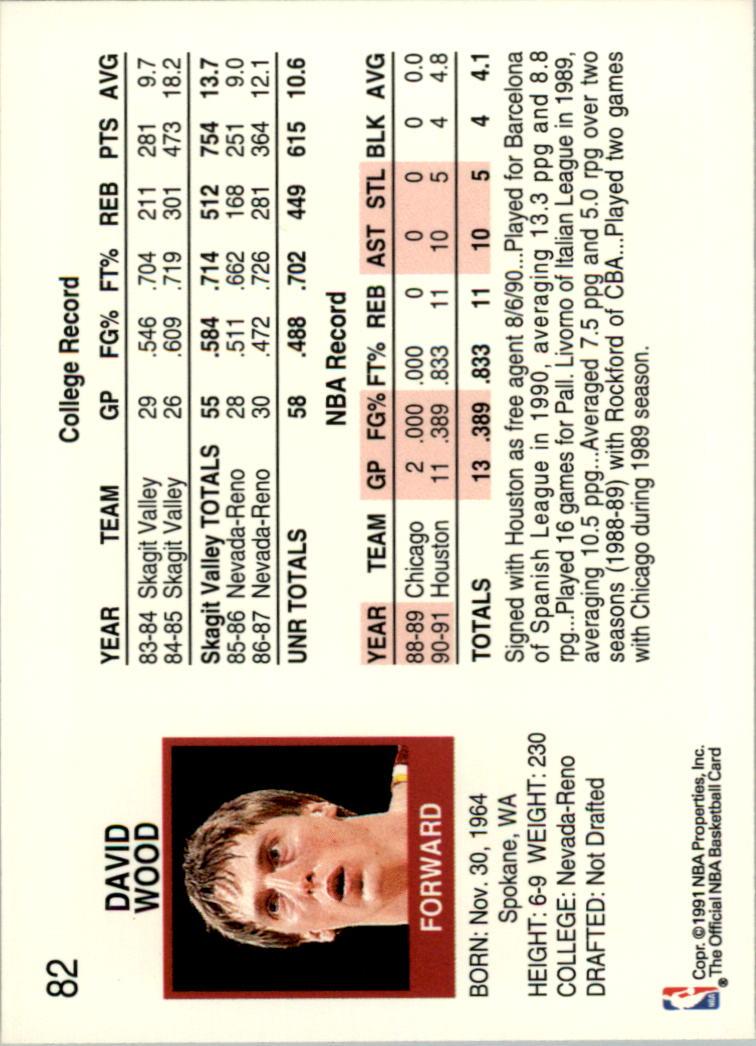 thumbnail 154 - 1991-92 Hoops Basketball Card Pick 1-250