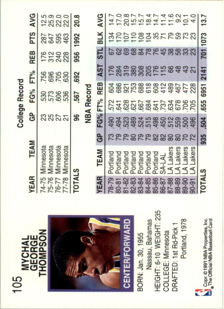 thumbnail 195 - 1991-92 Hoops Basketball Card Pick 1-250