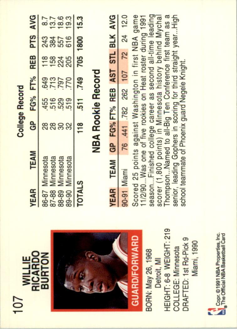 thumbnail 199 - 1991-92 Hoops Basketball Card Pick 1-250
