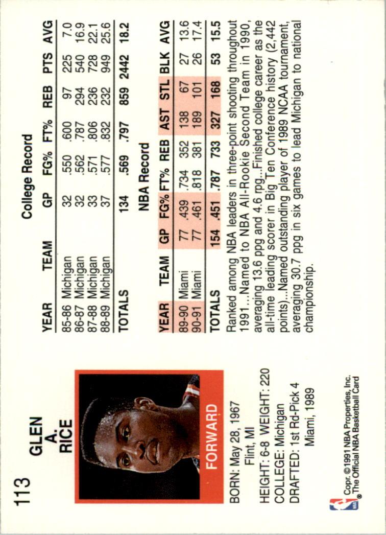 thumbnail 211 - 1991-92 Hoops Basketball Card Pick 1-250