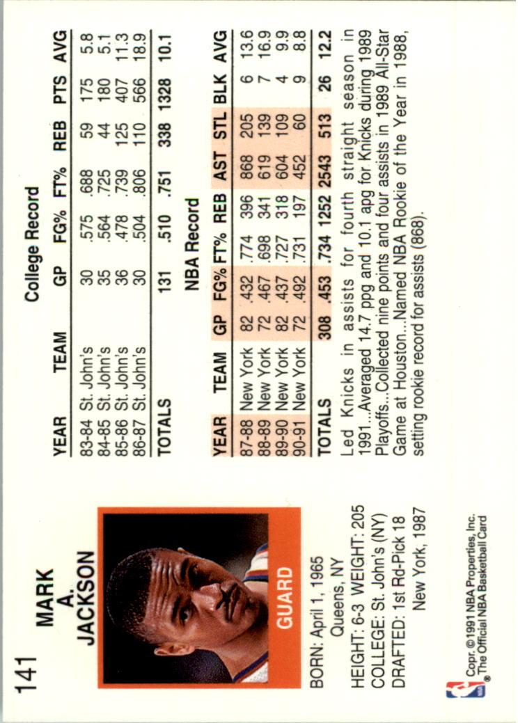 thumbnail 264 - 1991-92 Hoops Basketball Card Pick 1-250