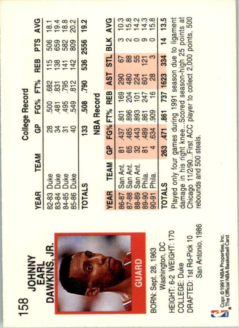 thumbnail 295 - 1991-92 Hoops Basketball Card Pick 1-250
