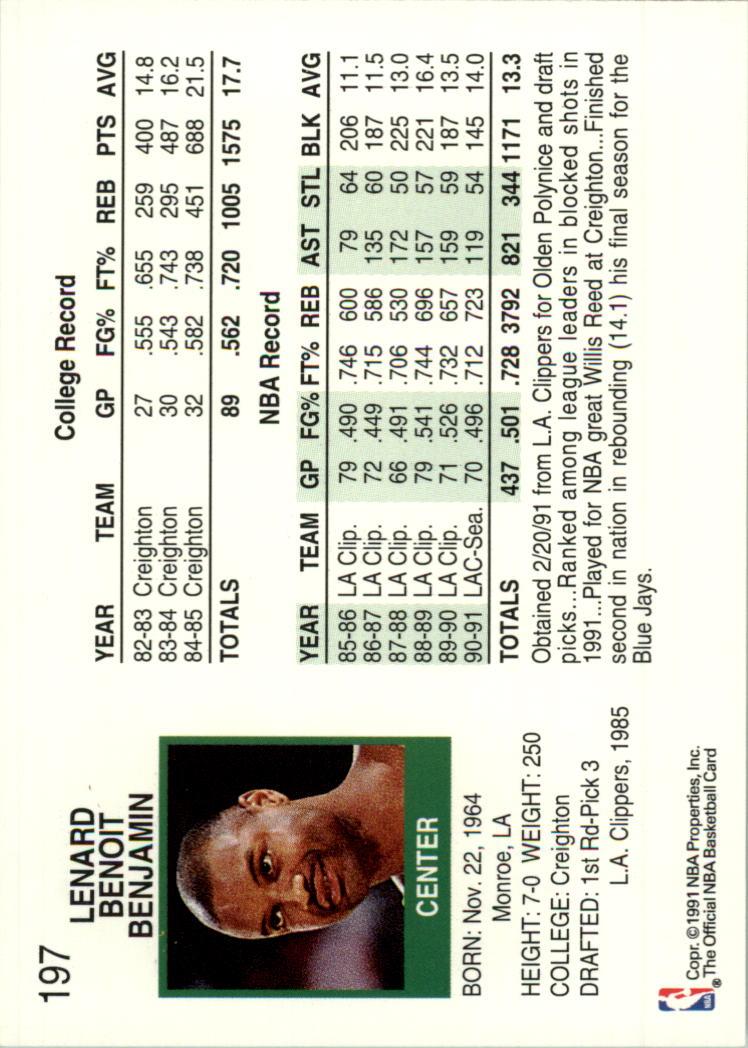 thumbnail 373 - 1991-92 Hoops Basketball Card Pick 1-250