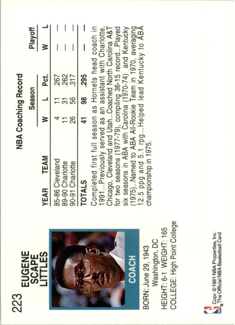 thumbnail 422 - 1991-92 Hoops Basketball Card Pick 1-250