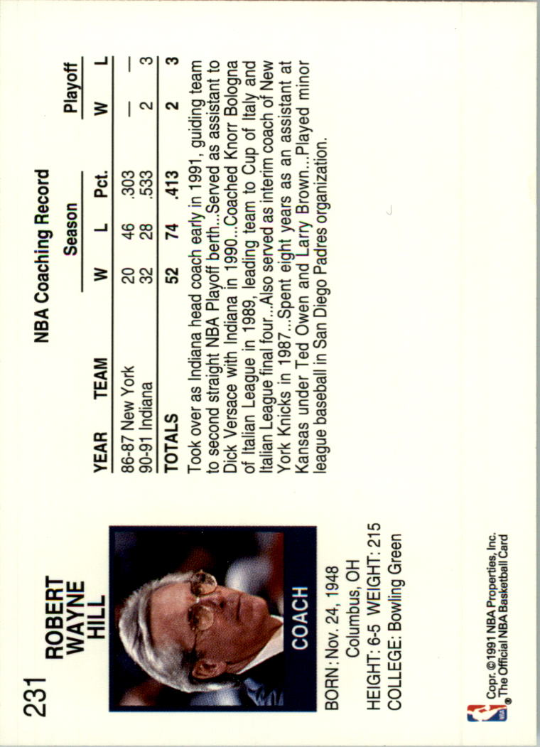 thumbnail 436 - 1991-92 Hoops Basketball Card Pick 1-250