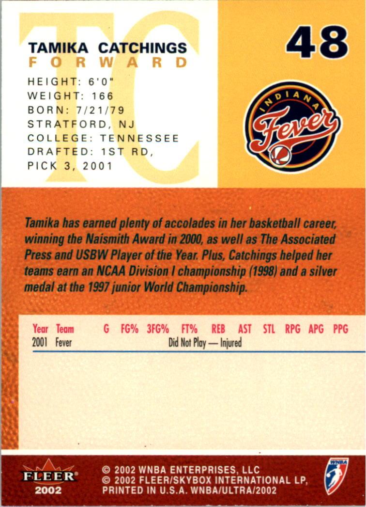 2002-Ultra-Wnba-Basketball-Carte-Choisissez miniature 97