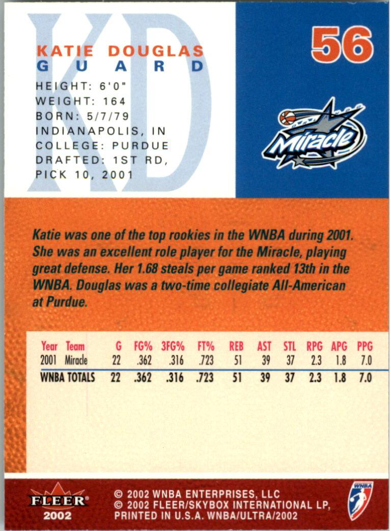 2002-Ultra-Wnba-Basketball-Carte-Choisissez miniature 113