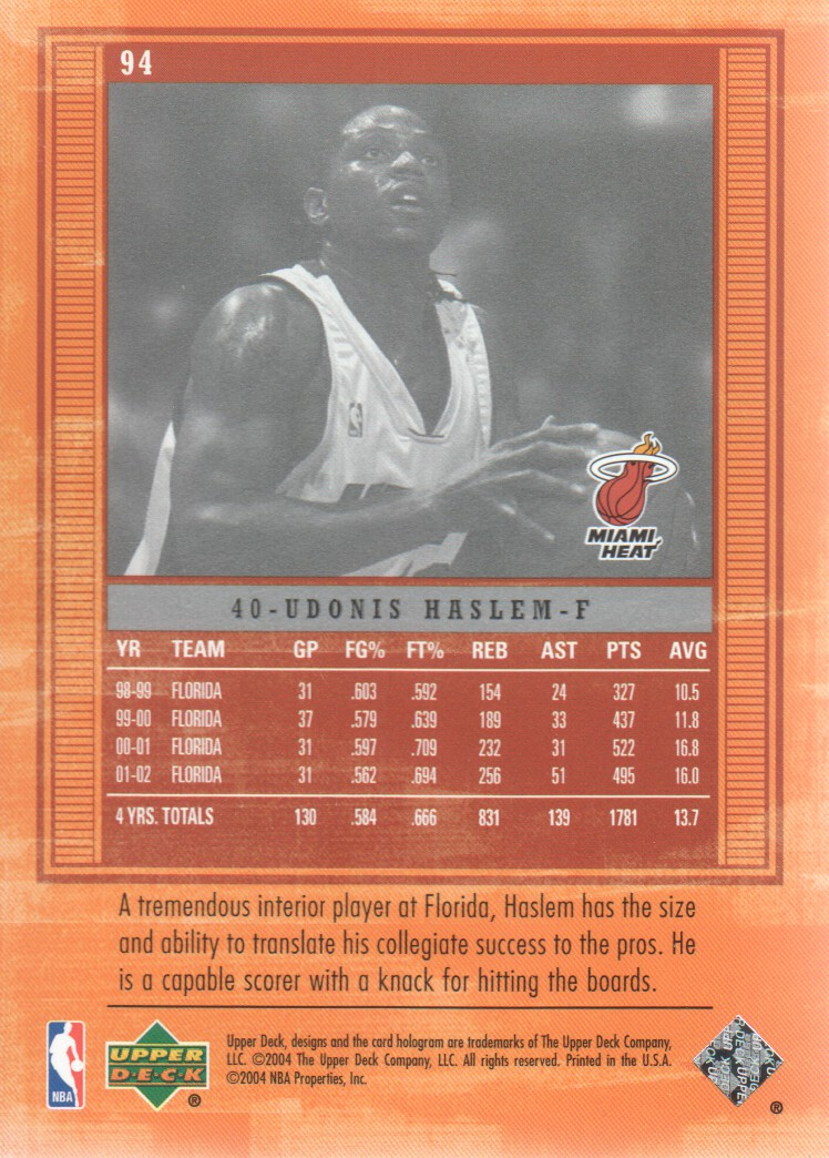 2003-04-Upper-Deck-Legends-Basketball-Cards-Pick-From-List thumbnail 183