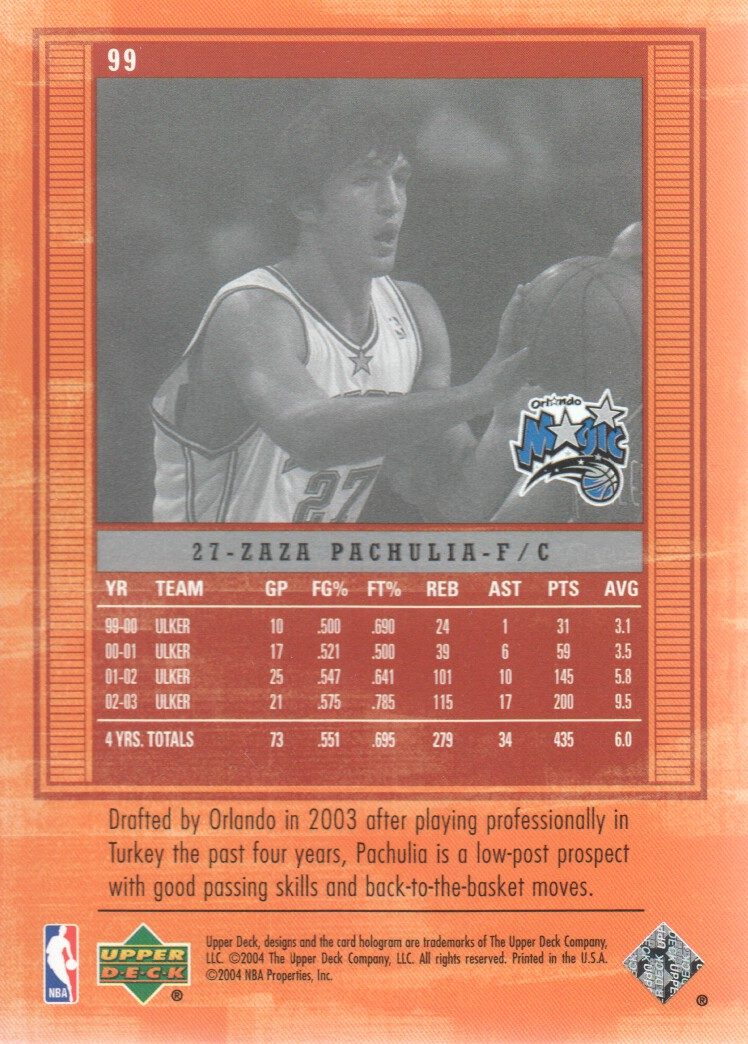 2003-04-Upper-Deck-Legends-Basketball-Cards-Pick-From-List thumbnail 189
