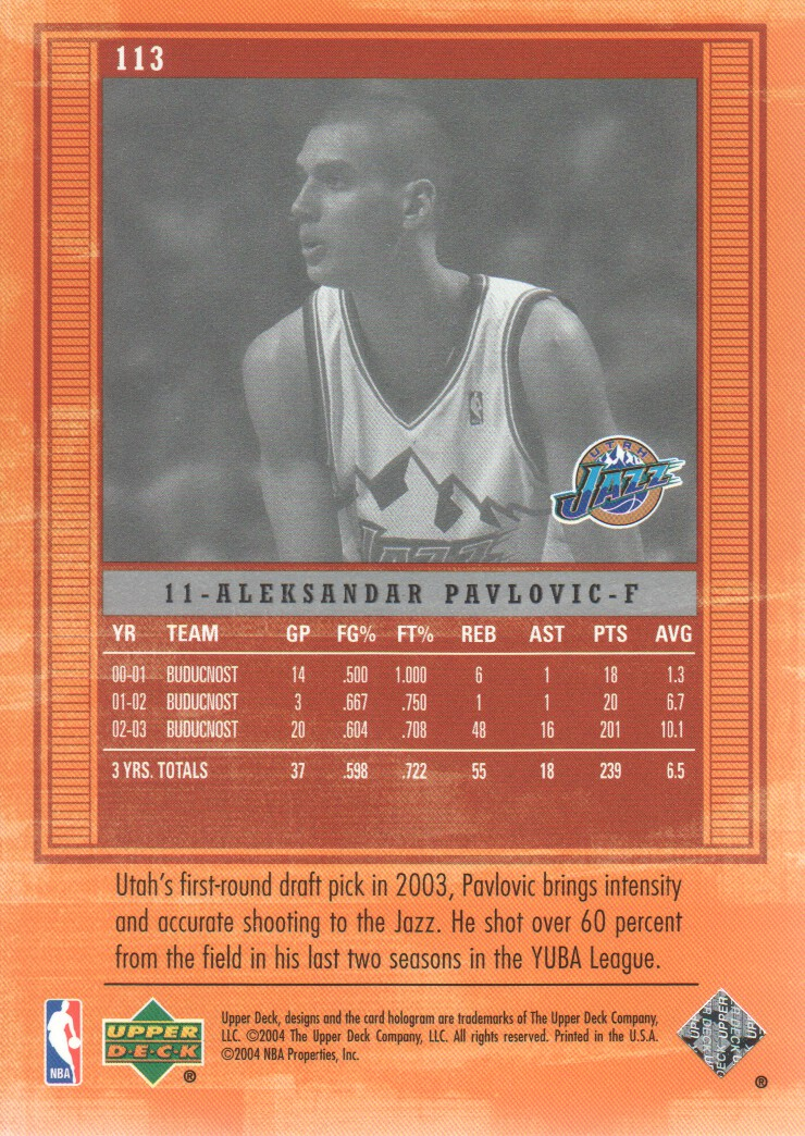 2003-04-Upper-Deck-Legends-Basketball-Cards-Pick-From-List thumbnail 207