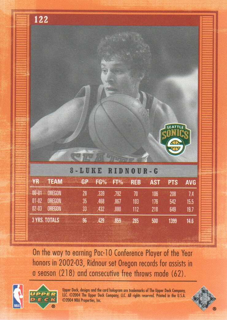 2003-04-Upper-Deck-Legends-Basketball-Cards-Pick-From-List thumbnail 215