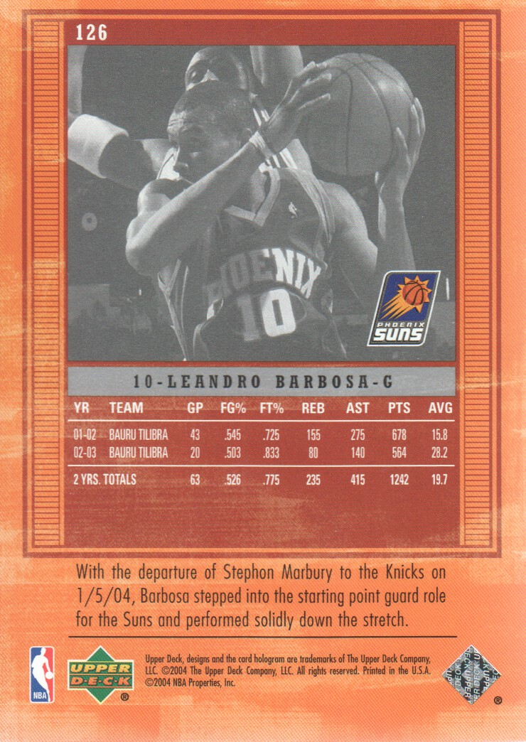 2003-04-Upper-Deck-Legends-Basketball-Cards-Pick-From-List thumbnail 221
