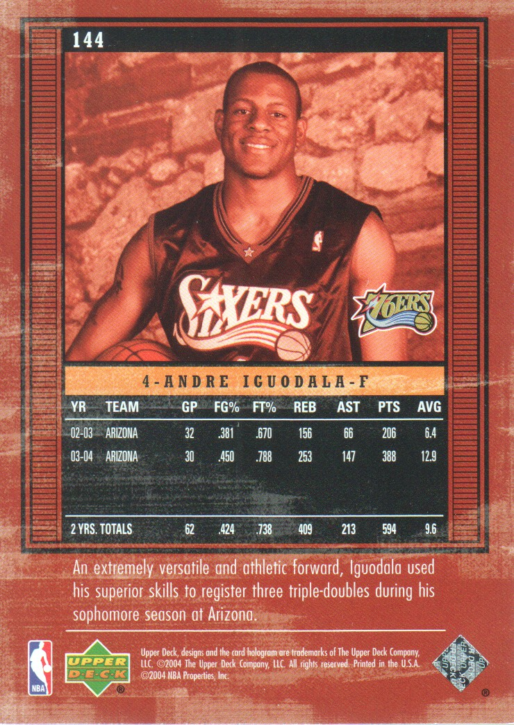 2003-04-Upper-Deck-Legends-Basketball-Cards-Pick-From-List thumbnail 239