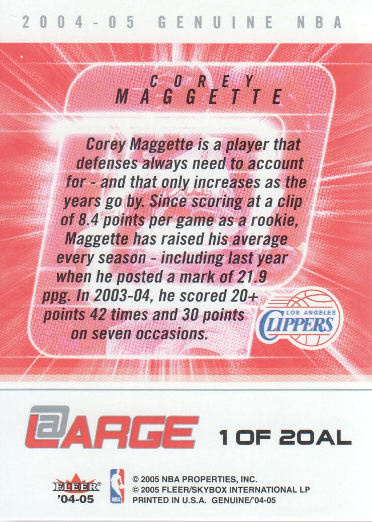 2004-05-Fleer-Genuine-Basketball-Cards-Pick-From-List thumbnail 113