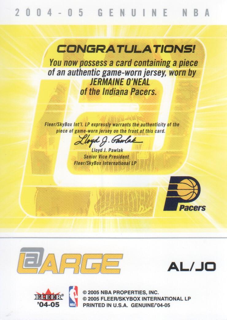 2004-05-Fleer-Genuine-Basketball-Cards-Pick-From-List thumbnail 115