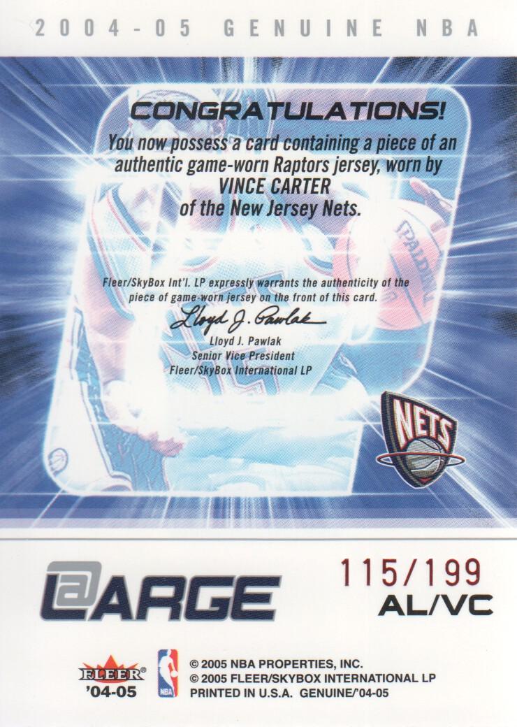 2004-05-Fleer-Genuine-Basketball-Cards-Pick-From-List thumbnail 117
