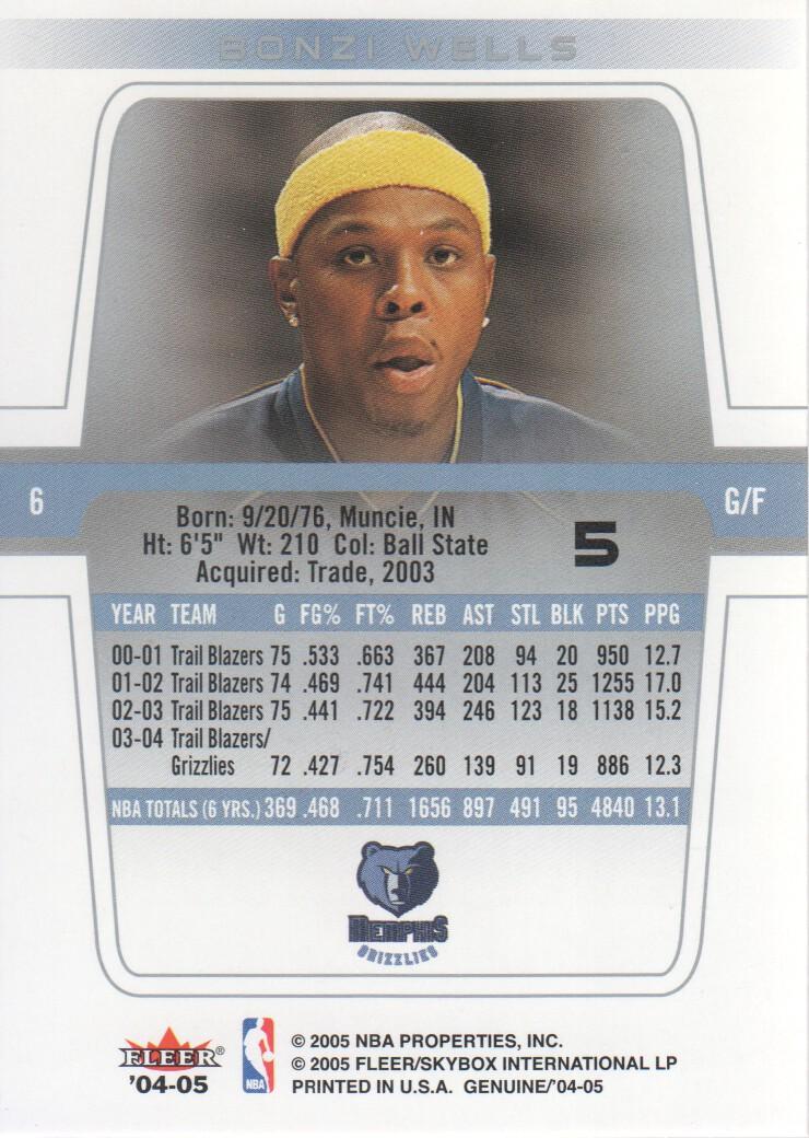 2004-05-Fleer-Genuine-Basketball-Cards-Pick-From-List thumbnail 7