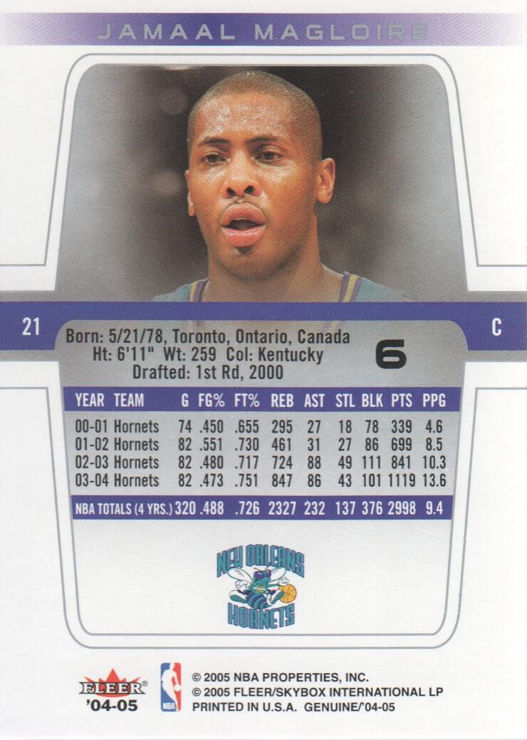 2004-05-Fleer-Genuine-Basketball-Cards-Pick-From-List thumbnail 9