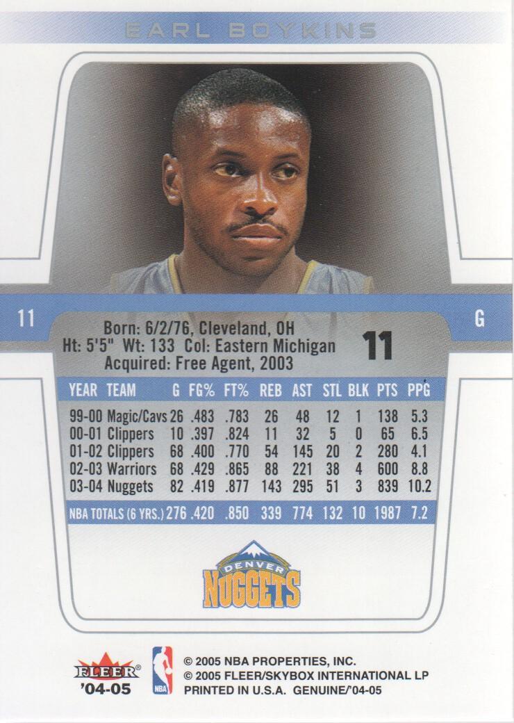 2004-05-Fleer-Genuine-Basketball-Cards-Pick-From-List thumbnail 13