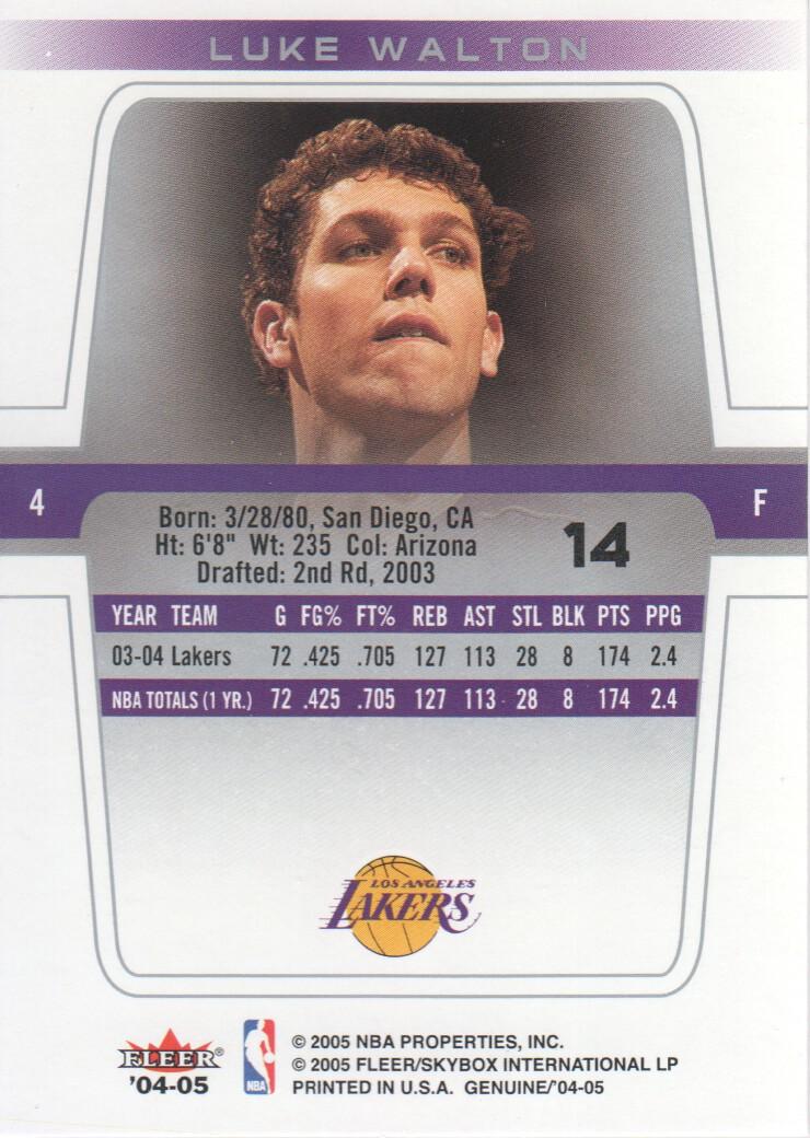 2004-05-Fleer-Genuine-Basketball-Cards-Pick-From-List thumbnail 15