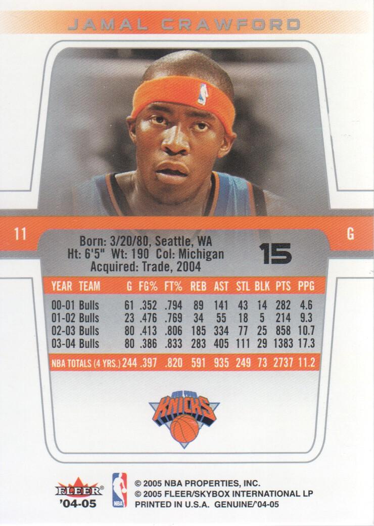 2004-05-Fleer-Genuine-Basketball-Cards-Pick-From-List thumbnail 17