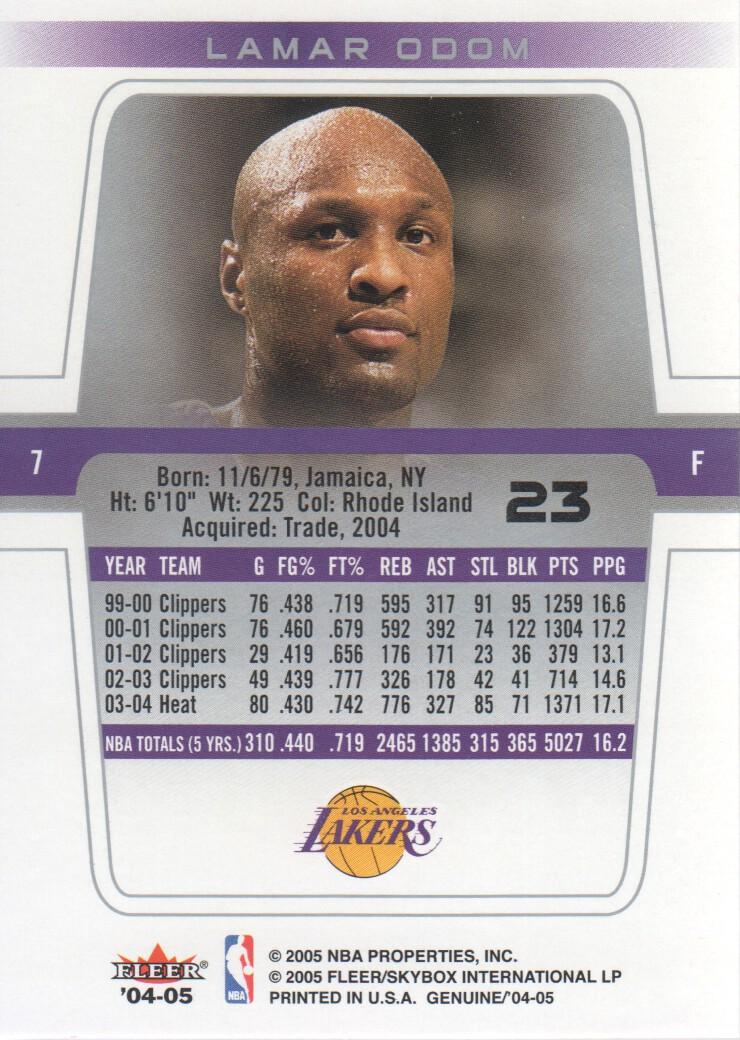 2004-05-Fleer-Genuine-Basketball-Cards-Pick-From-List thumbnail 25