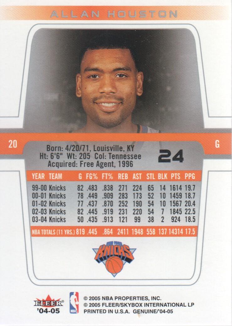2004-05-Fleer-Genuine-Basketball-Cards-Pick-From-List thumbnail 27