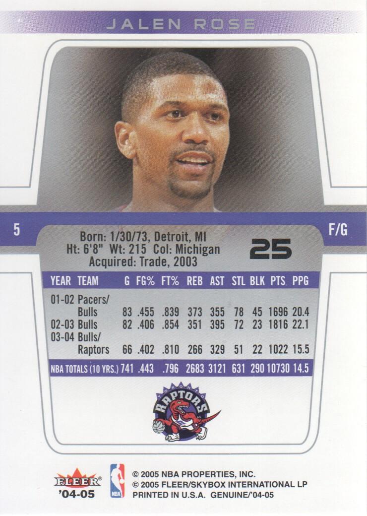 2004-05-Fleer-Genuine-Basketball-Cards-Pick-From-List thumbnail 29