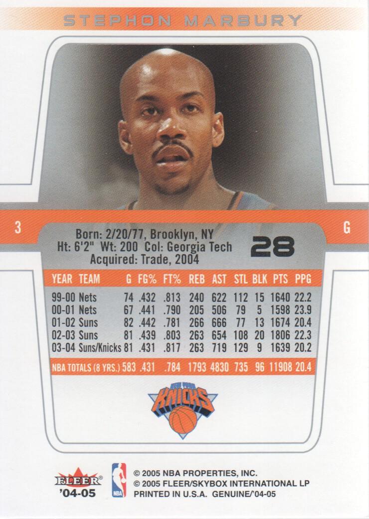 2004-05-Fleer-Genuine-Basketball-Cards-Pick-From-List thumbnail 31
